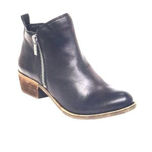 Lucky Brand Basel Smooth Leather Zip Booties